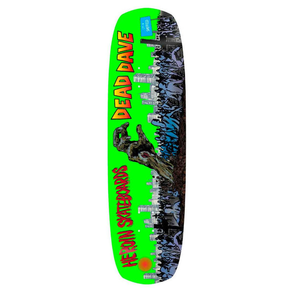 Heroin Deck Dead Dave Double Shovel 9