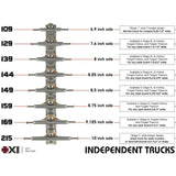Independent Trucks 139 Hollow - Poli