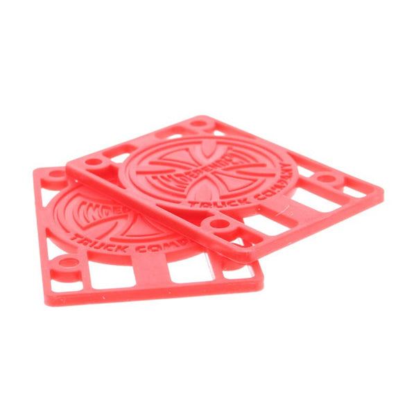 Independent Risers 1/8 Pouce - Red
