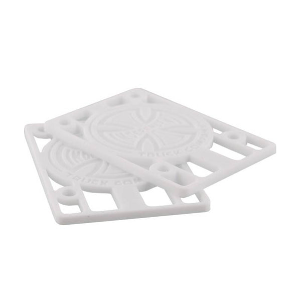 Independent Risers 1/8 Pouce - White