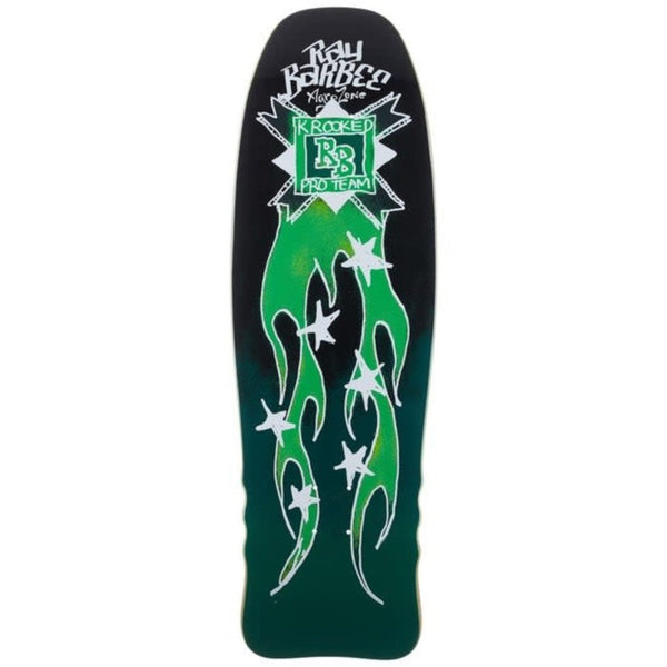 Krooked Deck Barbee Flames 10