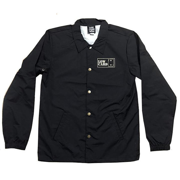 Lowcard Windbreaker Gold Cub - Black