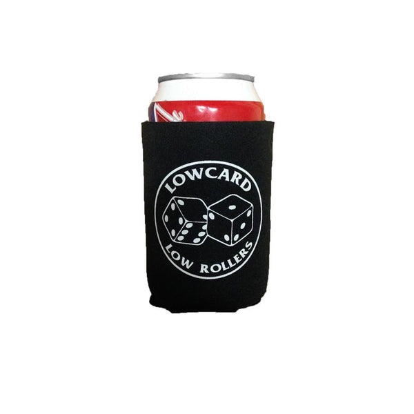 Lowcard Coozie Low Rollers - Black