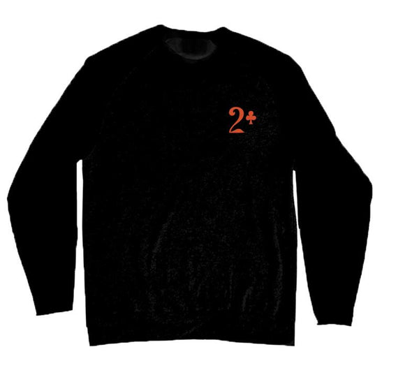 Lowcard Sweatshirt Rattler - Black/Orange