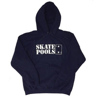 Lowcard Hoodies Skate Pools - Navy