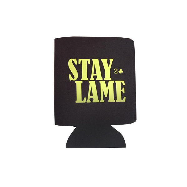 Lowcard Coozie Stay Lame - Black