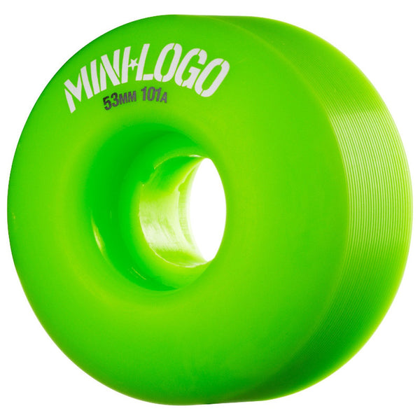 53mm 101a Mini Logo Wheels Price Point C-Cut