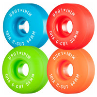 54mm 101a Mini Logo Wheels Price Point C-Cut