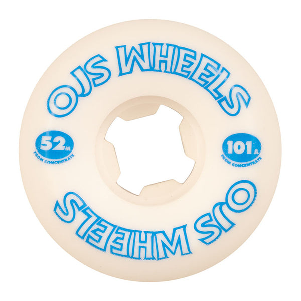 52mm 101a OJ Wheels From Concentrate Hardline