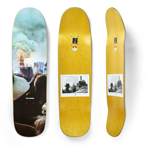 Polar Deck Paul Grund Notre Dame P9 Shape 8.62