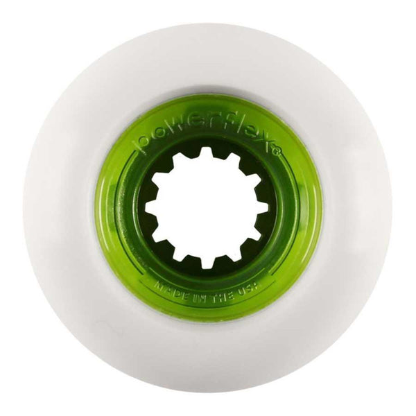 58mm 104a Powerflex Wheels Rock Candy - Green