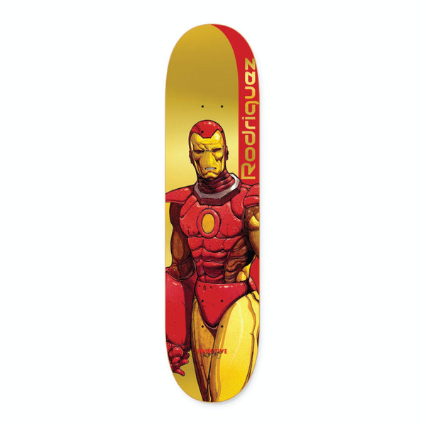 Primitive Skateboards Deck Marvel x Moebius Paul Rodriguez Iron Man 8.12