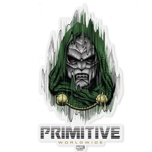 Primitive Die-cut Sticker Marvel Doctor Doom - Medium