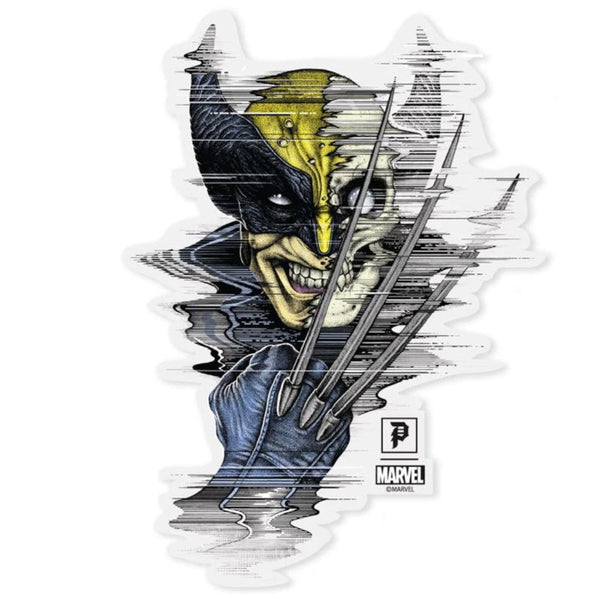 Primitive Die-cut Sticker Marvel Wolverine - Medium