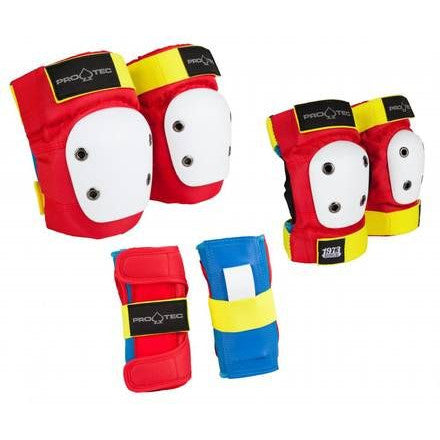 Pro-Tec Pads Retro JR Six Pack - Youth Small
