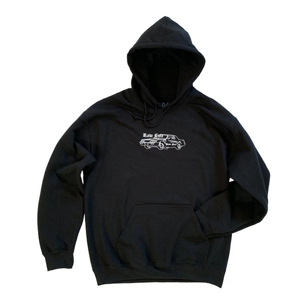 RAW CULT Hoodies RAW CULT x PESTE NERA Regal - Black