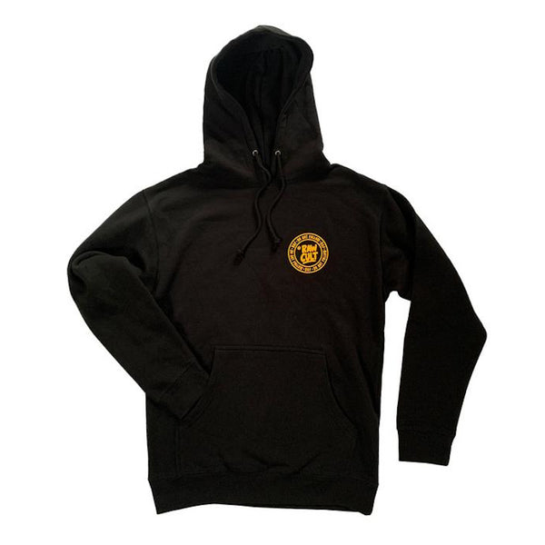 RAW CULT Hoodies Do Not Follow - Black/Yellow