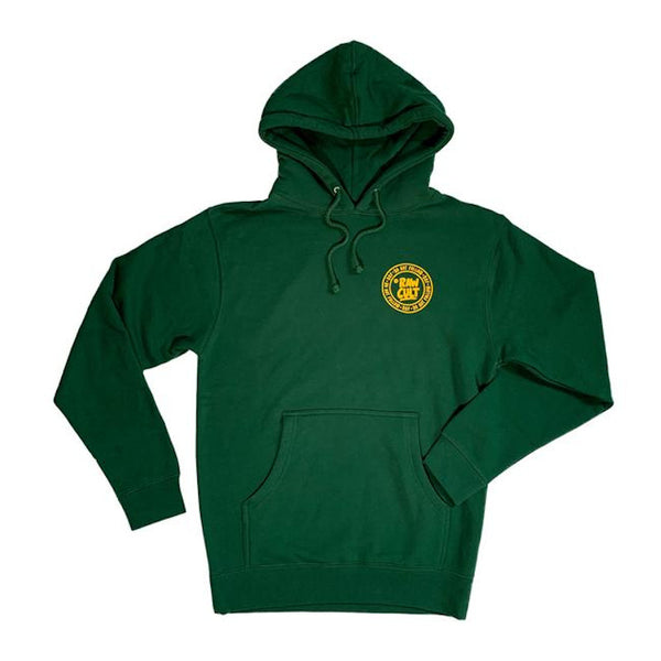 RAW CULT Hoodies Do Not Follow - Vert/Jaune