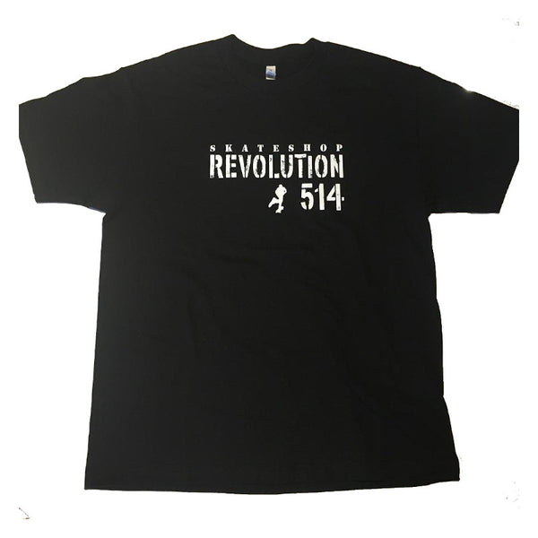 Revolution 514 T-Shirt Still Pushing - Noir