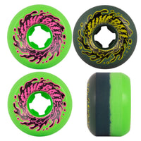 53mm 97a Slime Balls Wheels Vomit Mini Double Take - Vert/Noir