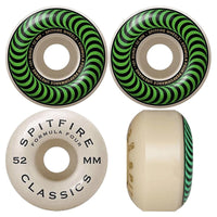 52mm 101a Spitfire Wheels Formula Four Classic