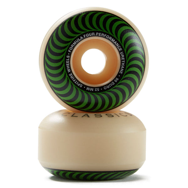 52mm 99a Spitfire Wheels Formula Four Classic