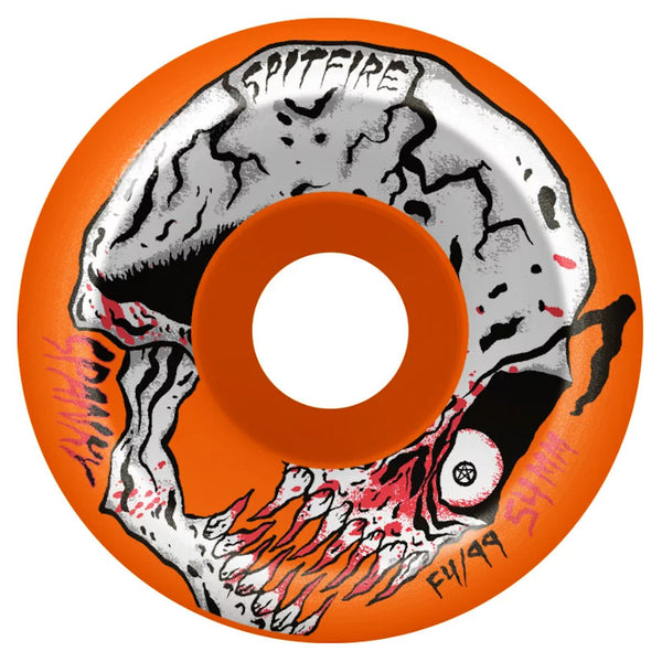 52mm 99a Spitfire Wheels Formula Four Spanky Neckface