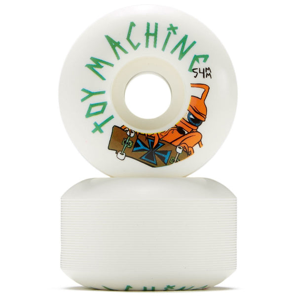 54mm 100a Toy Machine Wheels Sect Skater