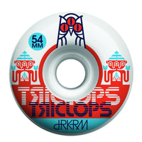 54mm 99a Triclops Wheels Gemini