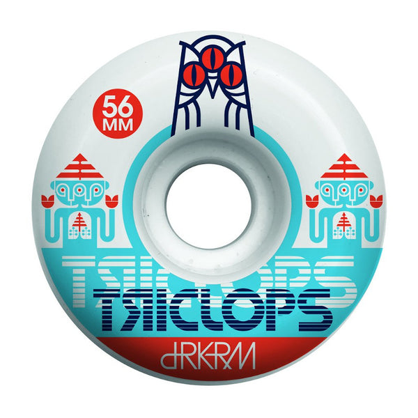 56mm 99a Triclops Wheels Spinner
