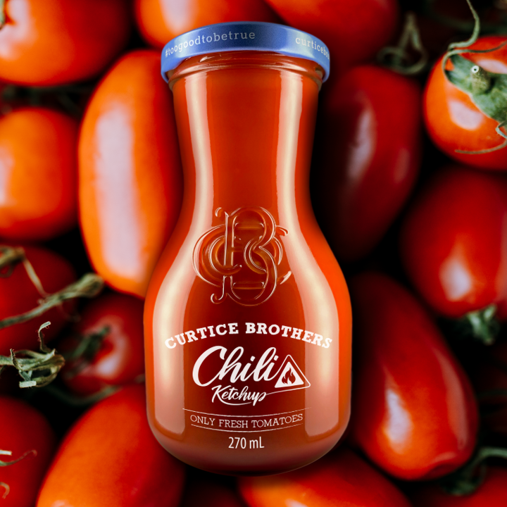 Organic Chilli Ketchup Lover [6 Jars]