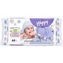 Bella Happy servetele sensitive aloe 56 buc