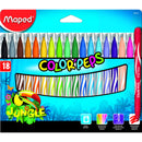 Carioca Maped colorpeps 18/set jungle