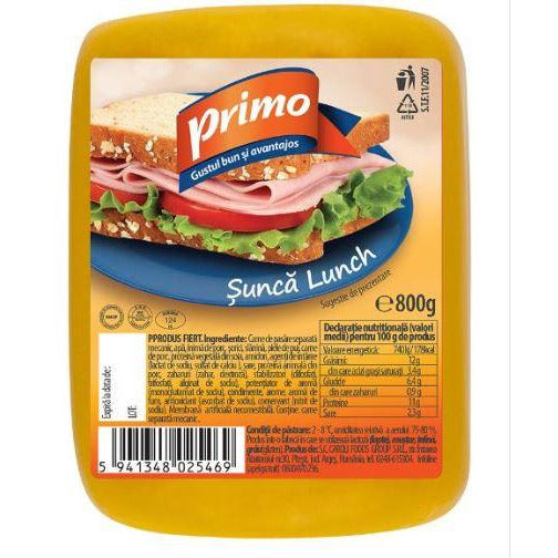 Sunca Lunch Primo 800g