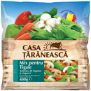 Casa Taraneasca Mixture of vegetables and mushrooms for pan 400g
