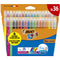 Bic Kid Couleur markere colorate ultralavabile, 36 buc/set