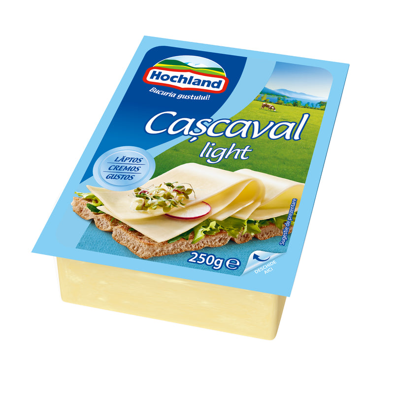 Hochland cascaval light 250g