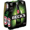 Beck's bere blonda, sticla 6x0.33l