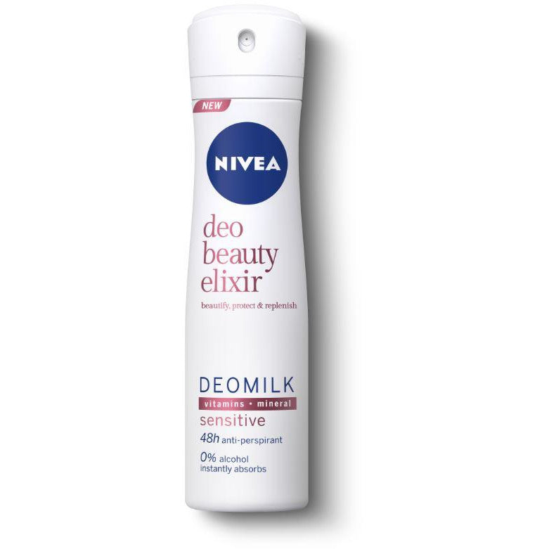 Antiperspirant spray NIVEA Beauty Elixir Sensitive 150ml