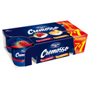 Cremosso yogurt with strawberries and peaches 8x125g promotional package