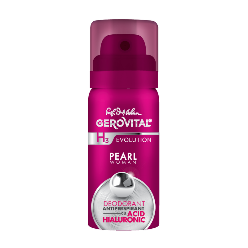 Deodorant Antiperspirant - Pearl Woman 40 ml