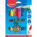 Creioane colorate colorpeps Maped 18/set Star