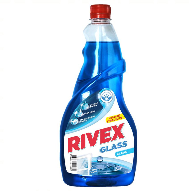 Rivex Glass clear rezerva 750 ml