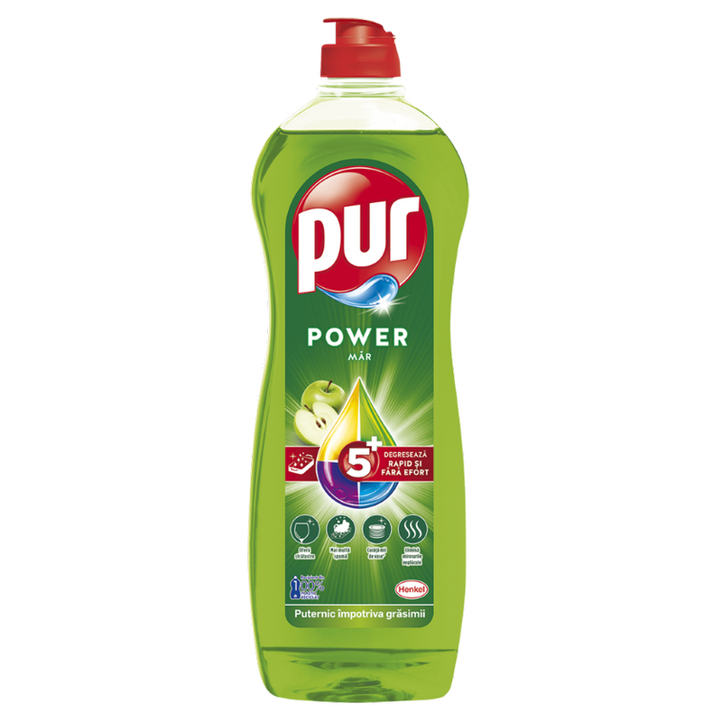 Detergent de vase Pur Power Apple 750ml