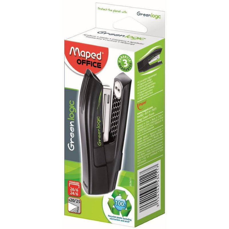 Capsator Maped Greenlogic 24/6 half strip