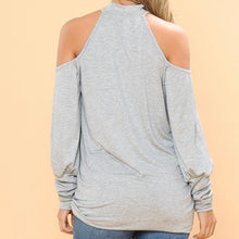 Load image into Gallery viewer, Cold Shoulder Long Sleeve