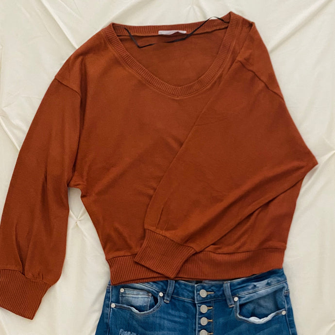Dolman Knit Top