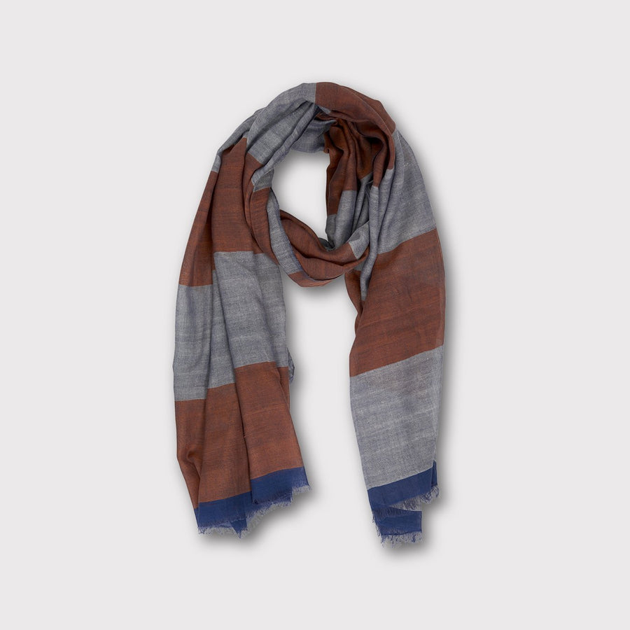 WOVEN STRIPES Scarf