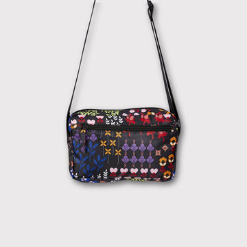 FLOWER POWER Cross Body Taske