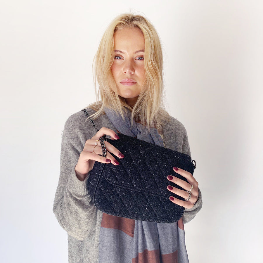BOUCLÉ CROSS BODY Bag